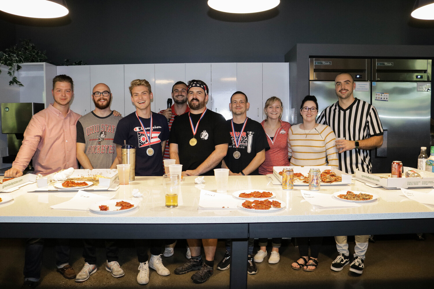 Pizza Eating Competition